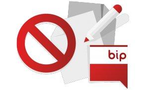 Czego nie publikować w BIP