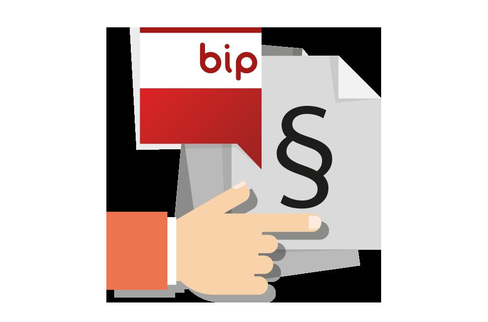 Informacje publikowane na BIPie