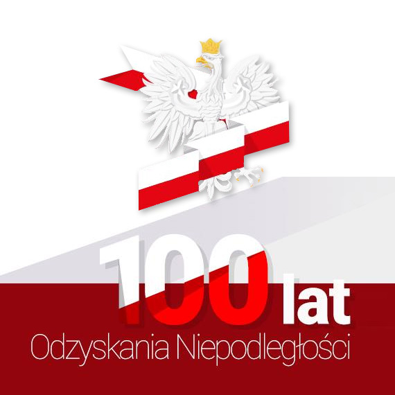 100 lat odzyskania niepodległości - jesteśmy dumni