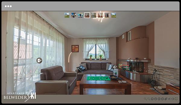 Wirtualna wycieczka po Apartamencie BelwederSKI