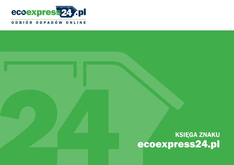 księga znaku - projekt logo ecoexpress24.pl