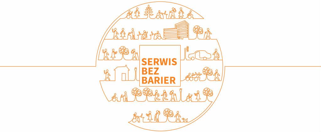 Serwis bez barier przyznawany przez stowarzyszenie Integracja