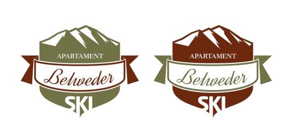 Projektowanie logo Apartament BelwederSKI
