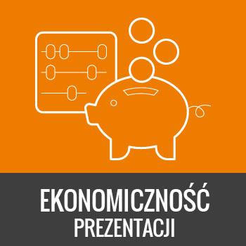 ekonomiczność prezentacji multimedialnej w wykonaniu IntraCOM.pl