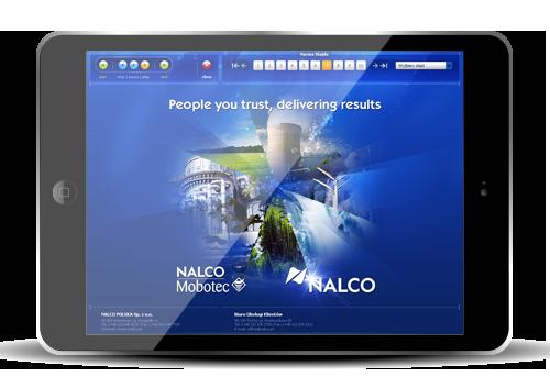 Prezentacja multimedialna wykonywana przez IntraCOM.pl dla Nalco, Nalco Mobotec