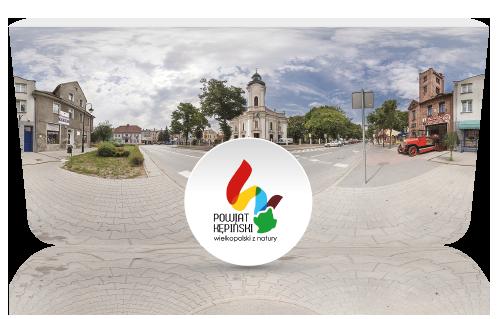 screen z wirtualnej wycieczki - powiat kępno