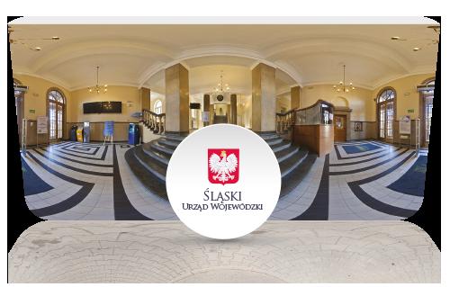 screen z wirtualnej wycieczki - Śląski Urząd Wojewódzki w Katowicach