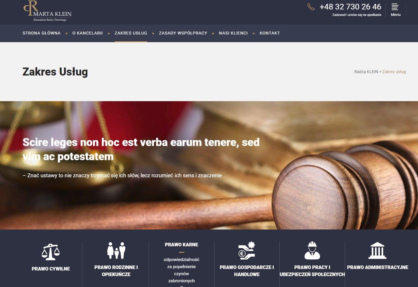 radca prawny katowice - projekt