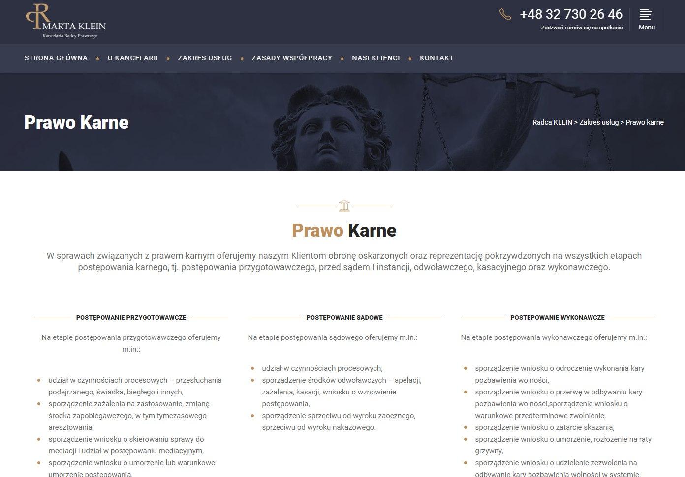 kancelaria prawna katowice radca - projekt
