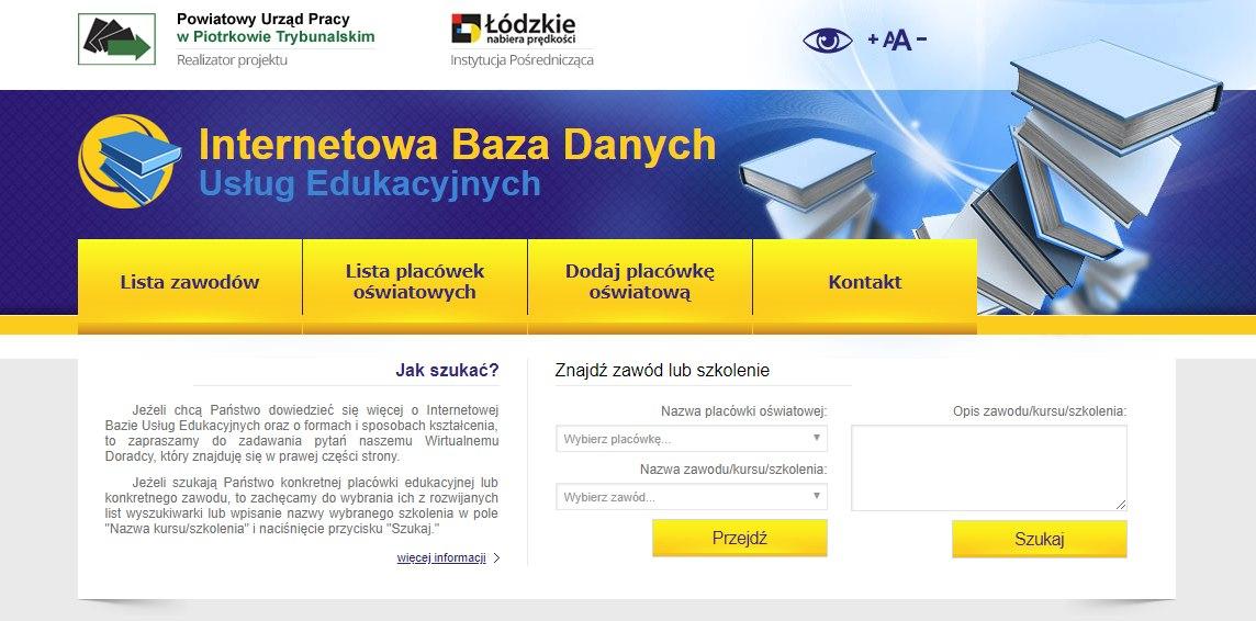 Internetowa Baza Usług Edukacyjnych