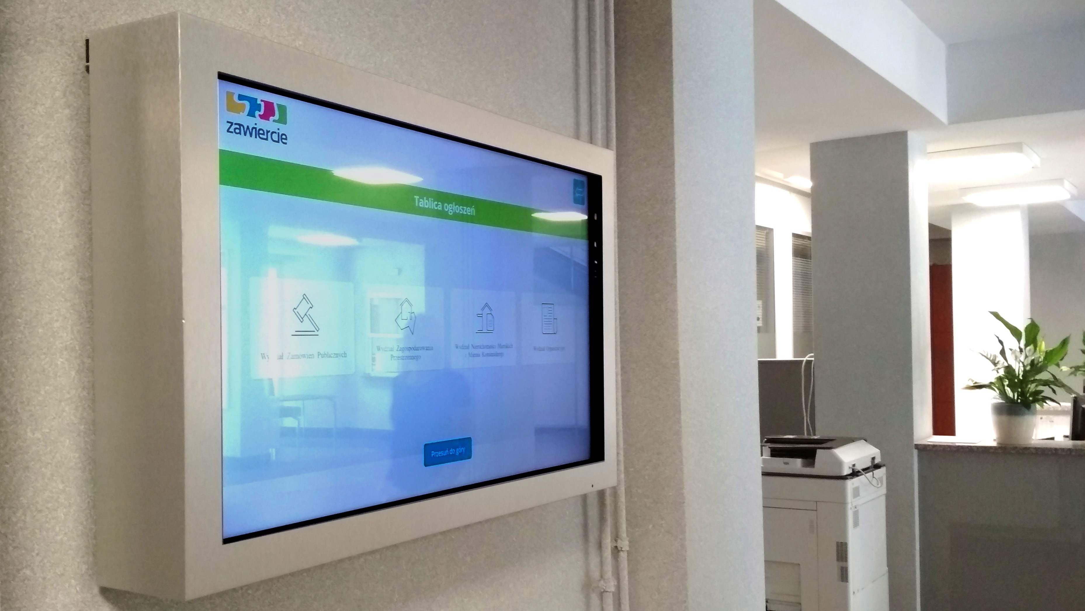 Urzędowa tablica interaktywna - IntraCOM.pl
